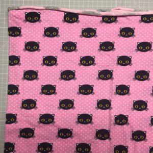 rosa lille katt